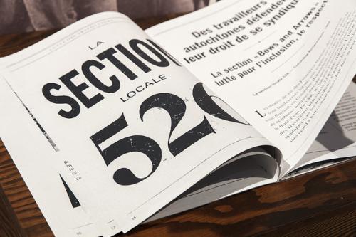 Tangible Interface - Newsprint