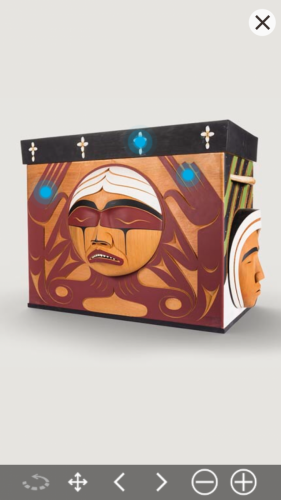 Bentwood Box Virtual Artefact