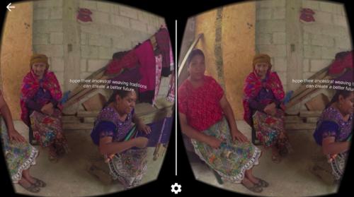 Virtual reality screenshot