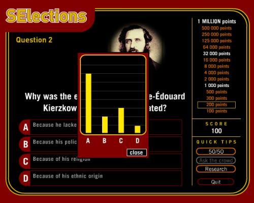 SElection Video Game Screenshot